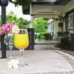 Casita outdoor tables
